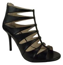 Michael Kors Women's Mavis Heel Sandals Shoes Black (9.5) - £79.42 GBP