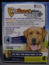 VetGuard Plus Flea / Tick / Mosquito Treatment For Large Dogs Over 66 lbs - €7,78 EUR