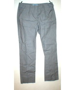 New Womens Designer Prada Milano Pants 38 2 Crop Gray White Slacks Trous... - $450.00