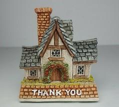 David Winter Cottages Thank You Gift ©1997 Enesco Corporation Original Box D1009 - $13.98