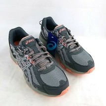 NEW ASICS T7G7N-9796 Gel-Venture 6 in Carbon / Mid Gray / Seashell Pink - 10 - $65.44