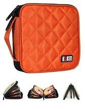 Various Colors 32 Capacity CD/DVD Wallet Auto Accessories CD Storage Orange