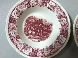 HOMER LAUGHLIN | Ponce de Leon | 8¼ Rimmed Soup Bowls | Historical America - $18.76