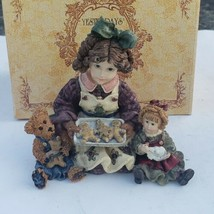 Boyds Bears Figurine Yesterdays Child Vintage Dollstone Home Again Serie... - £10.57 GBP