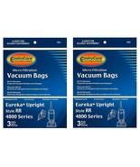 Eureka Type RR Vacuum Bags #61115 boss smart vac 4800 (6 Pack) BRAND NEW!! - $7.91