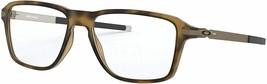 Unisex Oakley OX8166-0452 Wheel Eyeglass Frames - Satin Brown Tortoise, 52mm - $189.99