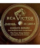 Chiquita Banana Pin Marin The Four King Sisters RCA Victor 78 RPM Buddy ... - $42.30
