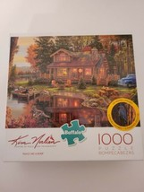 Buffalo Games Kim Norlien Jigsaw Puzzle Peace Like A River 1000 PC, 10 H... - $17.42