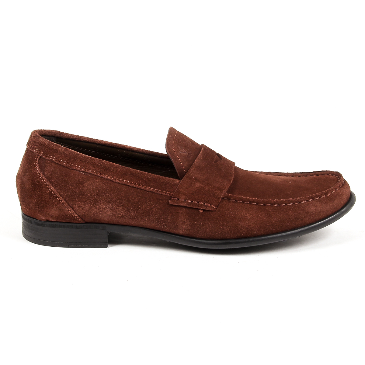 Primary image for V 1969 Italia Mens Loafer Brown LEONARDO