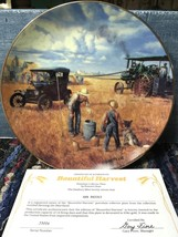 Bountiful Harvest The Danbury Mint Collector Plate By Emmett Kaye - $19.79