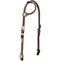 Weaver Horse Headstall Stacy Westfall Showtime Sliding EarBrown U-0255 - $203.10