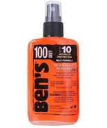 Ben's Military 100% Deet Tick & Insect Repellent Spray Pump 3.4oz Fly Mo... - $13.99