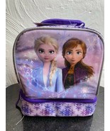 NWT Frozen Dual Compartment Lunch Bag Box Insulated - $12.19