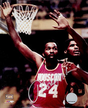 Moses Malone Signed Houston Rockets Action 8x10 Photo - £84.04 GBP