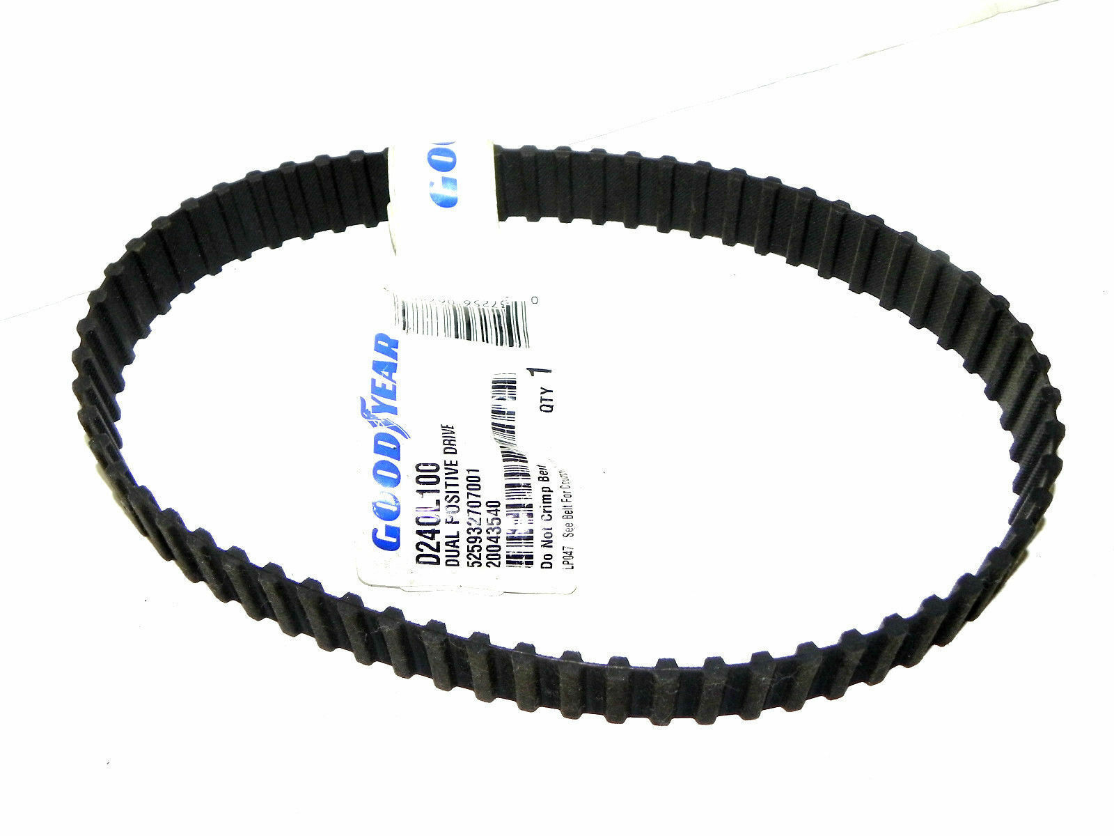 GOODYEAR D240L100 TIMING BELT POSITIVE DRIVE NEW