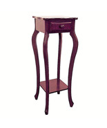 ORE International H-39 Accent table plant stand cherry finish - $52.45