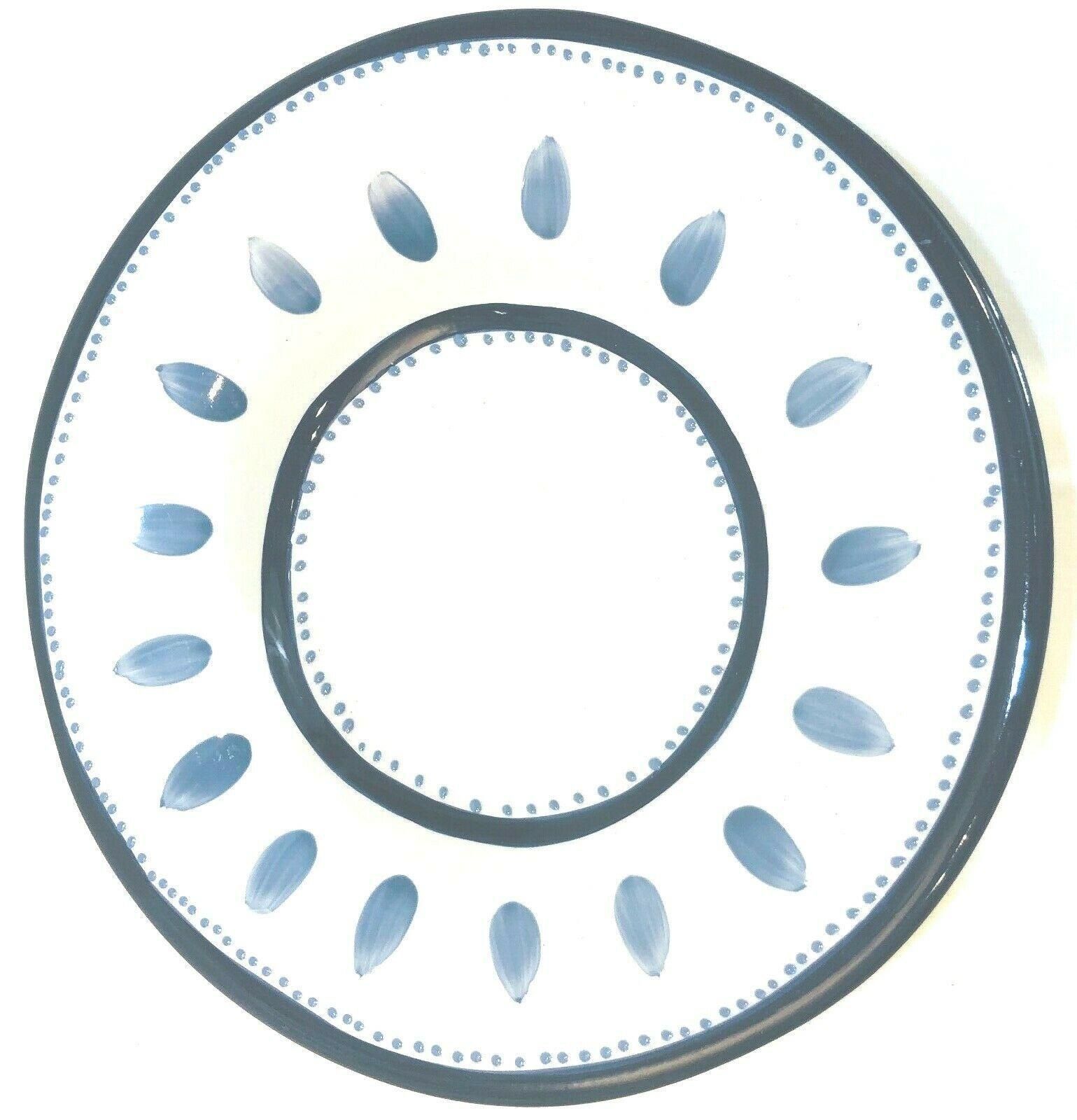 Pottery Barn Tiburon Blue & White Dinnerware Collection