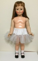 """WHITE Petticoat Slip Puffy for your Patti playpal or 35"""" - 36"""" doll - $7.53"""