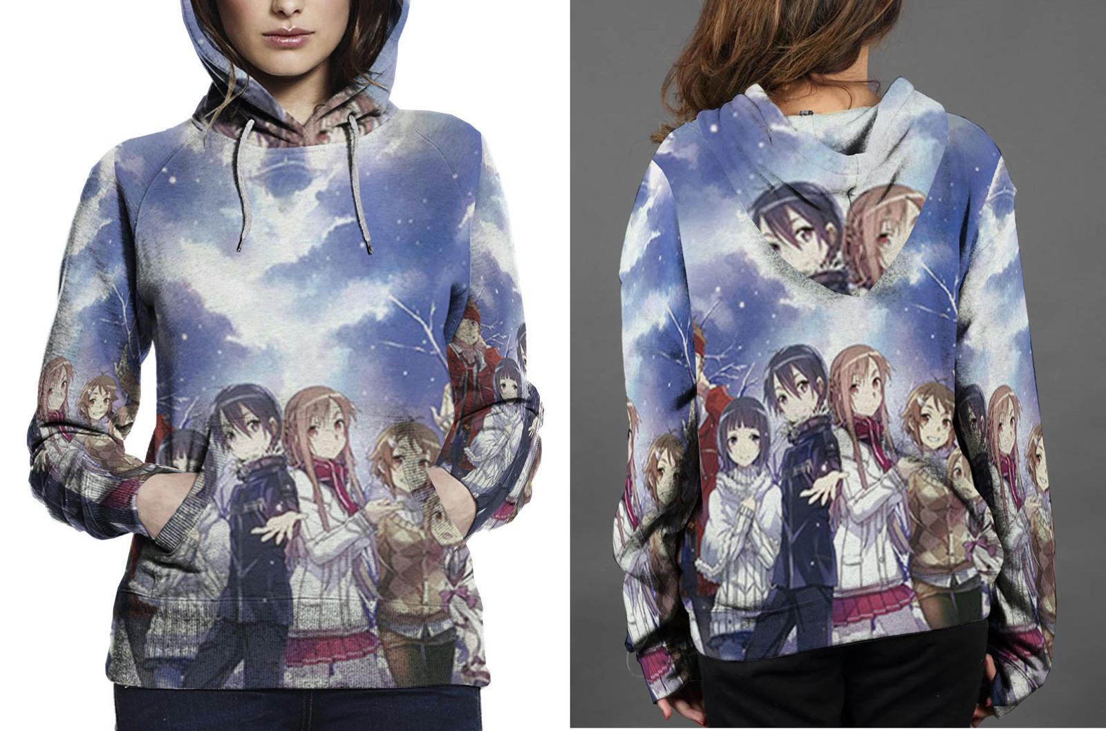 Klein  sachi  krito  asuna hoodie women s