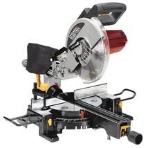 "NEW 10"" Sliding Compound Miter Saw 15 Amp. Motor, Make Cross Bevel Miter... - $130.89"