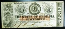 1863 State of Georgia  $10 - $177.21