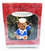 Hallmark keepsake christmas ornament grandson - $9.90