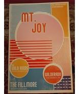 MINT MT JOY STRIPE Fillmore Poster 2019 - $25.99