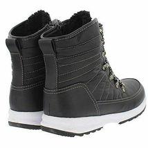 NEW Weatherproof Womens Black Water Repellent Alexa Winter Sneaker Ankle Boots image 3