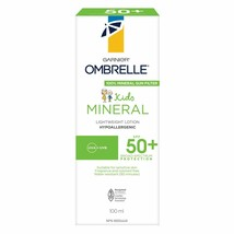 2PACK Garnier Ombrelle Face Mineral Hydrating Sunscreen Lotion SPF 50 75ml FRESH - $39.35