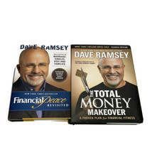 lot of (2) Hardcover DAVE RAMSEY books MONEY MAKEOVER Financial peace Re... - $20.57