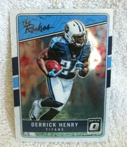 DERRICK HENRY RC 2016 PANINI OPTIC ROOKIE CHROME CARD#TR-DH PSA10?TITANS... - $19.79