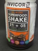 INVIGOR8 - Superfood Shake Triple Chocolate Brownie 22.6 oz New - $44.54