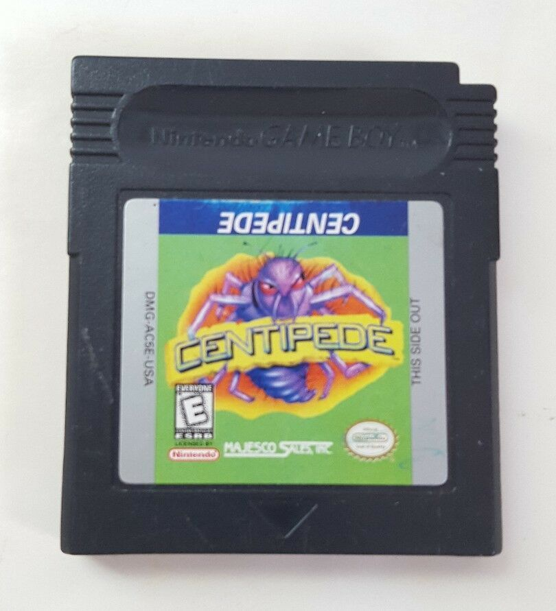 Centipede - Nintendo Game Boy Video Game Cartridge GB Majesco DMG-AC5E-USA