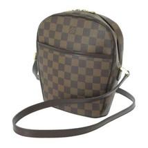 LOUIS VUITTON Ipanema PM Damier Canvas Ebene N51294 LV Shoulder Bag France - $769.45