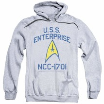 Star Trek Space U.S.S Enterprise NCC-1701 Retro Sci-Fi graphic hoodie CBS1509 image 1