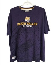 Section 101 Mens Shirt Size 4XL Purple Yellow Short Sleeve Tee LSU Tiger... - £13.95 GBP