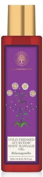 Forest Essential Cold Pressed Ayurvedic Body Massage Oil Balaswagandha 200 Ml