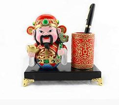 PANDA SUPERSTORE Beijing Opera Facial Masks Pen Container Furnishing Article Hom image 1