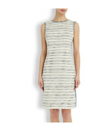 NEW TORY BURCH Gray Nicole Tweed Dress (Size 4) - MSRP $350.00! - $149.95