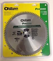 "Oldham 120P7280 Pro Series 12"" x 80 TCG Carbide Saw Blade USA - $54.45"