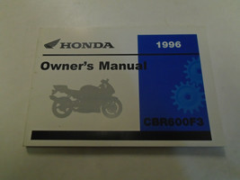 1996 HONDA CBR600F3 CBR 600 F3 Owners Operators Owner Manual Factory NEW - $54.39