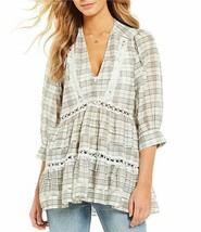 Free People Time Out Lace Tunic Top Dress Mult Sz - $99.99