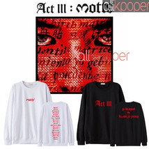 KPOP Bigbang G-Dragon Sweater GD ACT III MOTTE Album Concert Sweatershir... - $13.99+