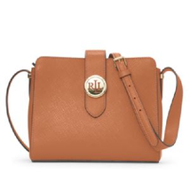 Polo Ralph Lauren Charleston Crossbody in Lauren Tan - $185.00