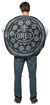 Oreo Cookie Adult Costume Men Women Food Sweets Halloween Party Unique GC3713