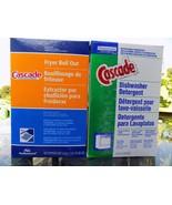 CASCADE DISHWASHER DETERGENT w/ PHOSPHATE 85 oz Old Formula New Box CLEA... - $47.50