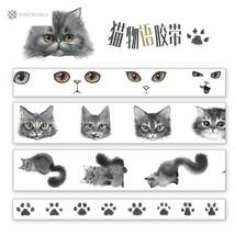 Cat Language Decorative Washi Tape DIY Scrapbooking Masking Craft Tape S... - $3.68