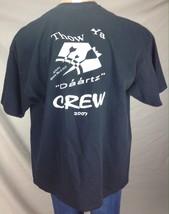 Vintage 2007 MVP Sports Bar Darts Competition Crew Daartz Thow Ya T Shirt XXL - $9.90