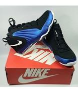New Men's Nike Air Max Wavy Blue Black Sz 10.5 AV8061-002 Free Shipping - $127.35
