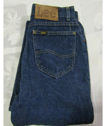 Lee Riders Size 10 Med 26 X 32 Womens Jeans Vintage Mom Made In USA Heavy - $34.99